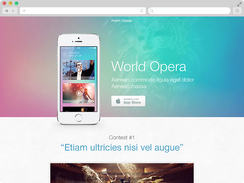 «World of Opera»